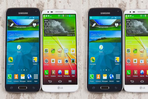 LG, samsung, LG mi Samsung mu