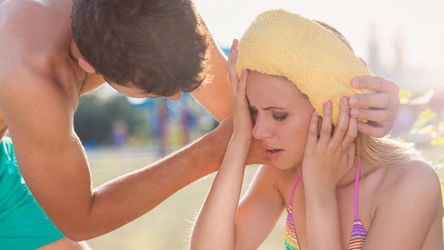 güneş çarpması, güneş çarpması nasıl geçer, güneş çarpması tedavisi